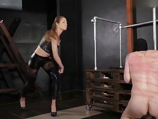 Mistress Lucy in Cruel Whipping !