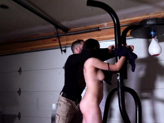 Uniform spanking and amateur rough sex Kyra Rose was sent