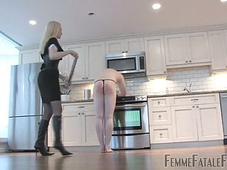 Mistress Eleise teaches a man obedience