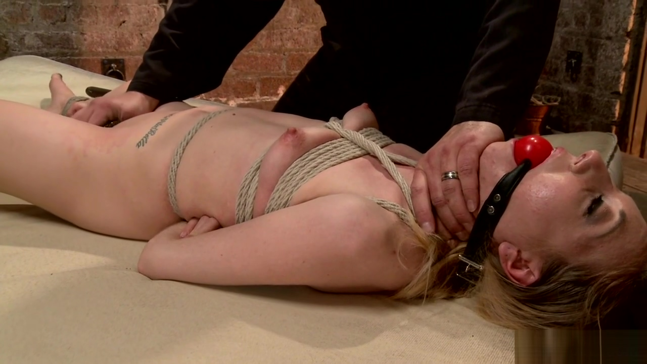 Small tits slave is whipped and toyed