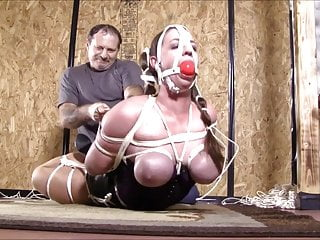 Now Thats A Reverse Prayer Hogtie