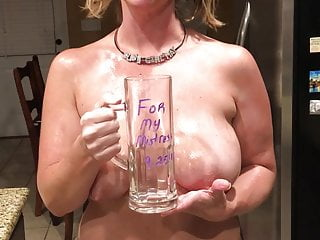 Slave Girl May - Piss in Cup