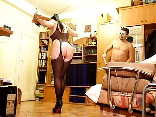 Hardcore playing for a female submissive